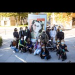 Guided tour of The Unforgettable street exhibition